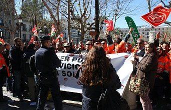 Photo of Solidaridad con los trabajadores de Lipasam desde el Distrito Cerro-Amate.