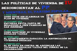 Photo of Las políticas de vivienda de IU desconciertan al PP