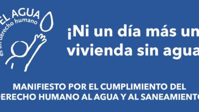 Photo of ¡Ni un día más una vivienda sin agua!