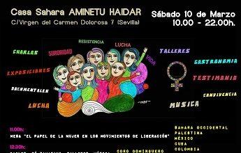 Photo of Súmate este sábado al 'I Encuentro en Sevilla de Mujeres que Luchan'