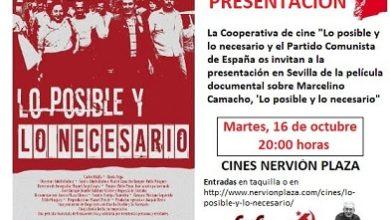 Photo of Llega a Sevilla el documental 'Lo posible y lo necesario'