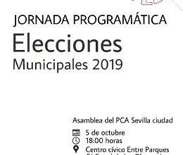 Photo of Jornada programática de cara a las próximas elecciones municipales