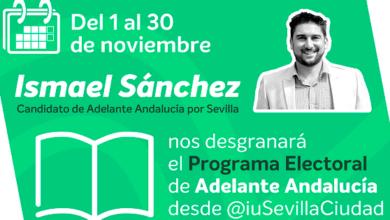 Photo of Ismael Sánchez nos explica en twitter el programa de Adelante Andalucía