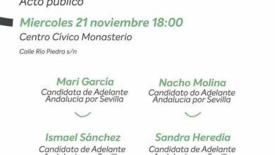 Photo of Actos públicos de campaña previstos para este miércoles en Sevilla