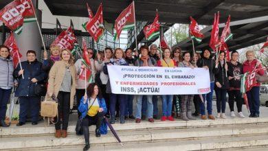 Photo of IU respalda las reivindicaciones de las trabajadoras de ayuda a domicilio