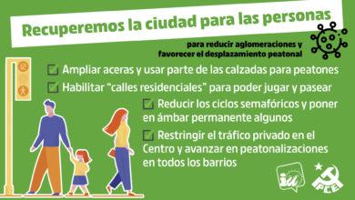 Photo of Recuperemos la ciudad para las personas