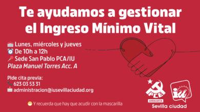 Photo of Te ayudamos a gestionar el Ingreso Mínimo Vital