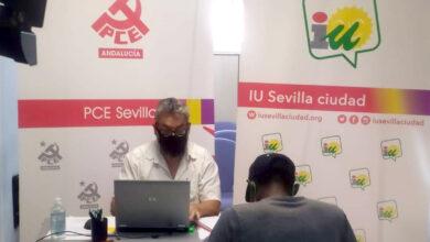 Photo of IU y PCE asesoran a más de un centenar de familias sevillanas sobre la gestión del Ingreso Mínimo Vital