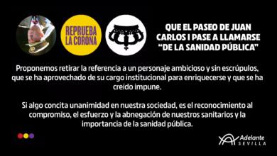 """Photo of Adelante propone en el Distrito Casco Antiguo que el Paseo de Juan Carlos I pase a llamarse """"de la Sanidad Pública"""""""
