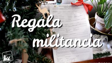 """Photo of IU lanza una campaña para """"regalar militancia"""" en estas fiestas"""