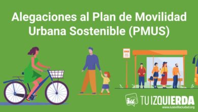 Photo of Alegaciones al Plan de Movilidad Urbana Sostenible (PMUS)