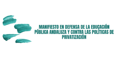 Photo of Manifiesto en defensa de la Educación Pública andaluza y contra las políticas de privatización