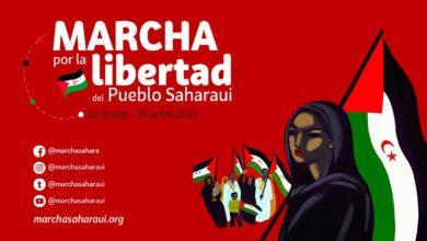Photo of Une tus pasos a la Marcha por la Libertad del Pueblo Saharaui