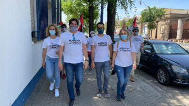 Photo of IU muestra su apoyo a la Marcha por la libertad del Pueblo Saharaui a su paso por Sevilla