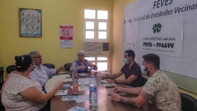 Photo of Encuentro de Izquierda Unida con la Federación Local de Entidades Vecinales, (FEVES)