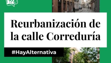 Photo of Alternativas para la reurbanización de la calle Correduría