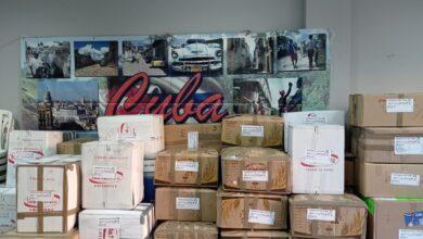Photo of Un contenedor cargado de solidaridad para Cuba